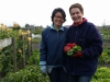 Samen tuinieren. De dames van tuinen 69 70 en 65 66.
