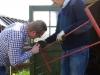 Inspectie van de woelvork (grelinette)