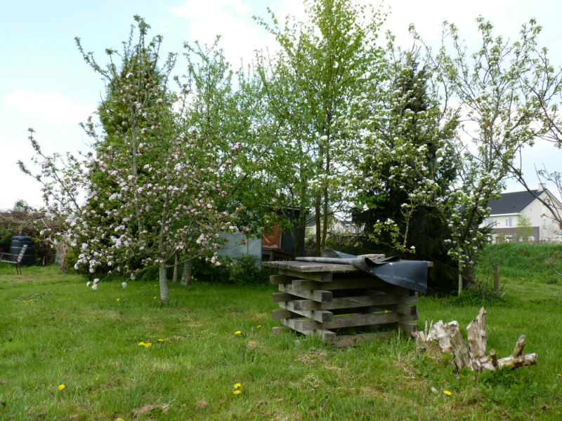 Een tuin van Volkstuinvereniging Heerenveen op 07-05-2013