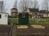 De tuin van Geeske (nr 68) op 16 april 2013